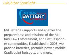 Exhibitor Spotlight: Mil Battery